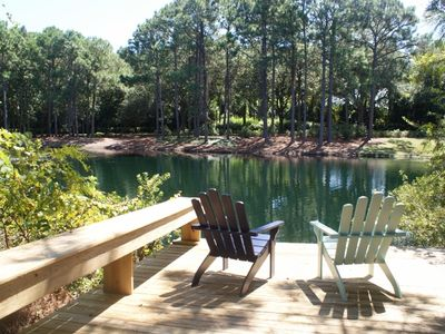 Beautiful 3/3 W/GOLF CART-  Family Cottage sleeps 8 * Great Patio/Outdoor Space