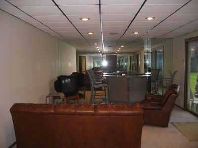 Lower Level Entertainment Area