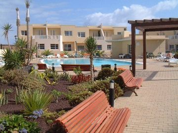 Caleta de Fuste (El Castillo) house rental - Pool and Gardens