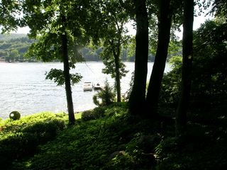 New Milford house photo - View of lake from house