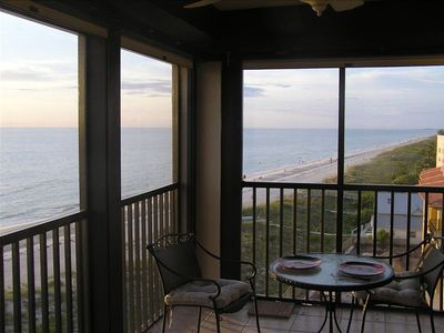 A corner unit affords you with two views of the ocean rather than just one.