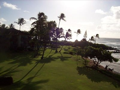 Wailua condo rental - North View from Lanai