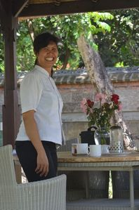 Tumbak Bayuh villa rental - Your cook - Desak