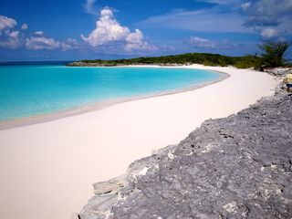 Great Exuma villa photo - A deserted beach near Bougainvillea House