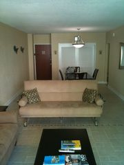 Hollywood Beach condo photo - living