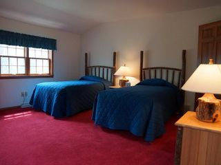 Minocqua cabin photo - Twin Beds in another Bedroom
