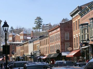 Downtown Galena - gorgeous historic shopping treat