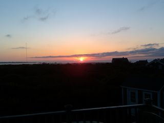 Tom Nevers house photo - Wake up to a magnificent sunrise ocean view from second floor deck