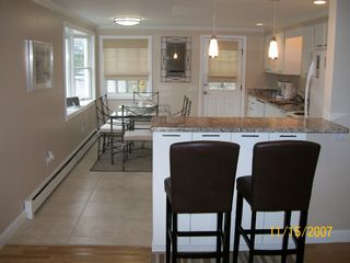 Provincetown house photo - Large open kitchen --- perfect for entertaining!