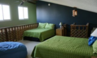 Indian Shores condo photo - The Loft sleeping area with 32' TV. Great teenager retreat.