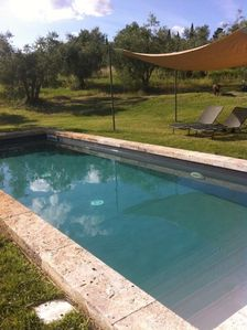 The career in 1700 in the Crete Senesi private pools and gardens wifi