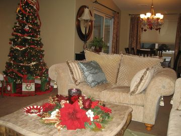 Livingroom at Christmas