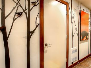 Seattle townhome photo - Entryway: those birds hiding in the trees are actually coat hooks!
