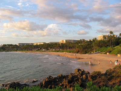Wailea's five star Hotels a short stroll away and miles of sandy beaches