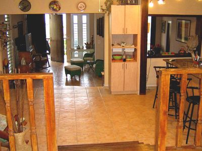 Rincon villa rental - Good cross ventilation throughout the house.