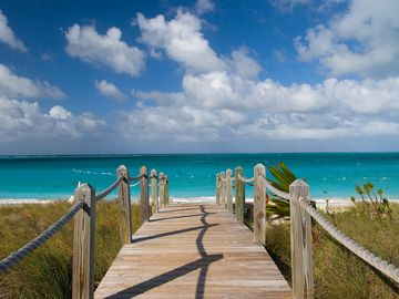 Just a Step to Grace Bay Beach