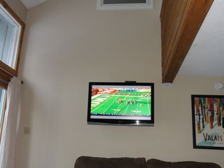 "Jay Peak condo photo - 42"" 1080P HD LCD to catch the game! High Ceilings."