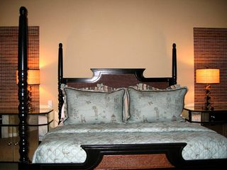 Indian Wells property rental photo - King Size Bed in Casita. Casita features shower, Tub, TV and Walk in closet.