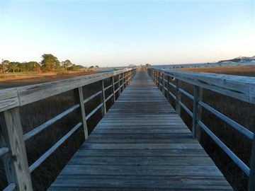 Baytowne Village and Wharf is just a short walk or bike ride away.
