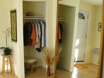 Closet and Standing Mirror