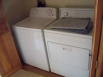 Washer/Dryer in Hallway Alcove