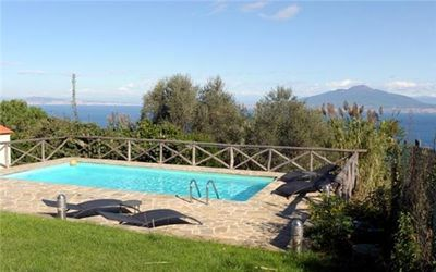 Apartment for 4 people, with swimming pool, Sorrento Peninsula