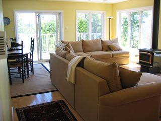New River Beach house photo - View of Living/Dining Room area.