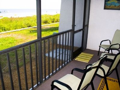 Watch the Dolphins from your Lanai, or just enjoy morning coffee at the beach.