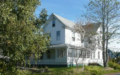 The Sea Glass House: Dreamy Victorian on Storybook Maine Island off Acadia