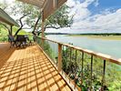 Lake Views - The back deck affords sweeping views of Lake Travis.