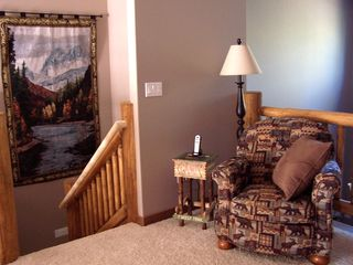 Sunriver house photo - Upstairs you'll find a great spot to read and relax