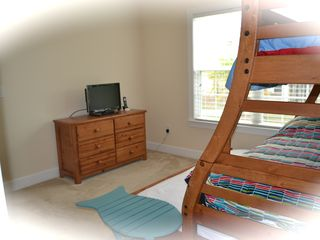 Private Homes house photo - 1st floor bunk bed can sleep 4, TV with built in DVD player