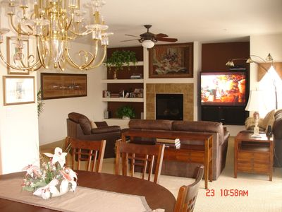 Dining room/Family room