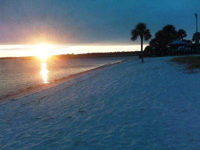 Port Charlotte house rental - Great sand on the local beach 1 mile from home