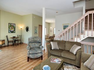 Bethany Beach house photo - Main living area with computer access cafe table