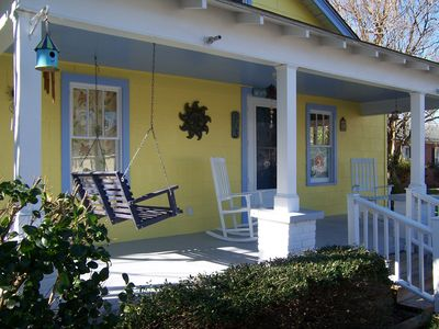 New Bern cottage rental - The front of our Bamboo Cottage