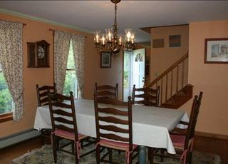 East Orleans house photo - Summer casual or Cape Cod formal dining, no shoes required.