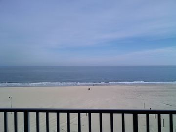 Belmont Towers Ocean City condo rental - Direct ocean view from balcony