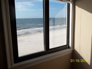 Gulf Shores condo photo - View of the gulf from the 2nd bedroom!