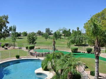 Gilbert house rental - Golf course view