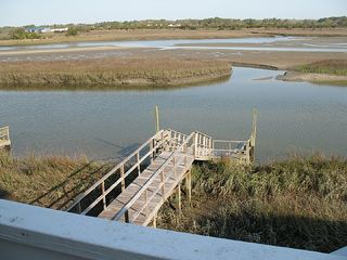 Ocean Isle Beach cottage photo - private dock