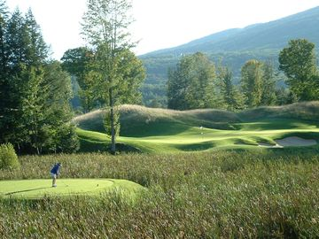 Okemo Golf Course 17th Hole (thats me!)