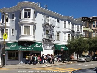 San Francisco apartment photo - Mama's restaurant - famous for best Brunch in the city and 2 blocks away