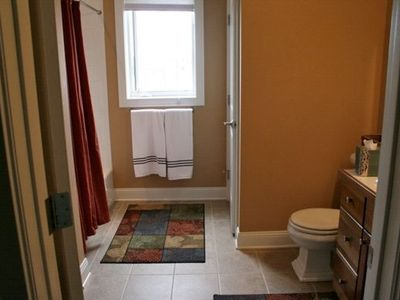 Grand Haven condo rental - One of three great bathrooms