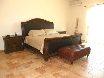 Spacious Master Bedroom, private bath with jetted tub and large walk in shower