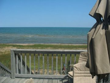 Oscoda chalet rental - Beautiful View from Deck