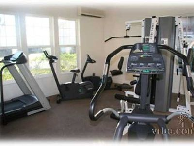 Waikoloa Beach Resort condo rental - Pump it up in the gym near the main pool!