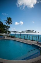 St. Lawrence Gap condo photo - Our private beachfront pool