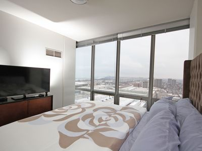 Luxury Suite with City and Skyline Views