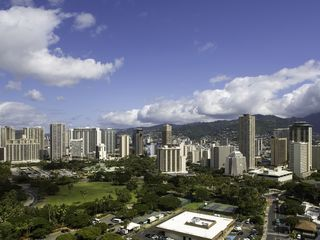 Honolulu condo photo - The excitement of Waikiki! Take a stroll or jog in Ft. Derussey Park